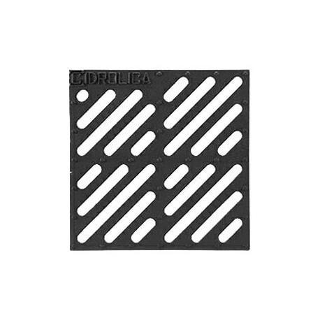 Решетка чугунная Gidrolica Point РВ-28,5.28,5 для дождеприемника 300х300