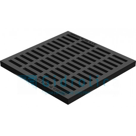 Пластиковая решетка к дождеприемнику 400х400