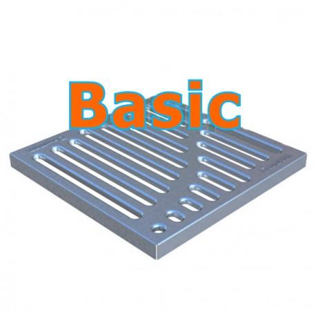 Решетка стальная Basic к дождеприемнику 300x300