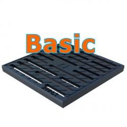 Чугунная решетка Basic 300х300 щелевая