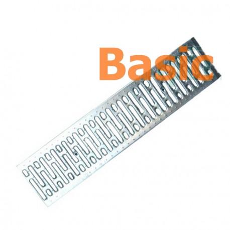 Решетка водоприемная Basic РВ-20.24.100 штампованная, нержавеющая сталь 2590