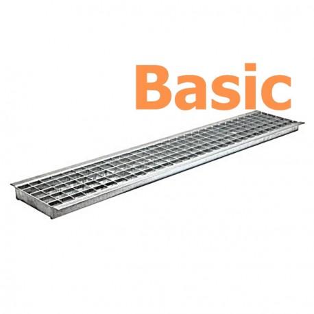 Решетка водоприемная Basic РВ-20.24.100 ячеистая стальная оцинкованная 2520