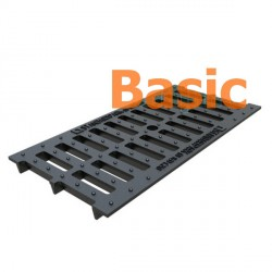 Чугунная решетка Basic DN200 (щелевая)