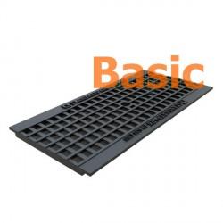 Чугунная решетка Basic DN200 (ячеистая)