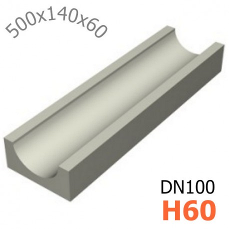 Лоток водоотводный ЛВ-10.14.06 - бетонный