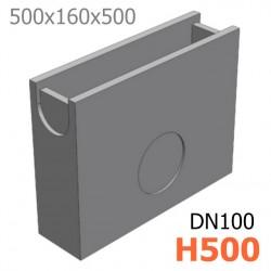 Схема: Пескоуловитель ПУ-10.16.50 - бетонный