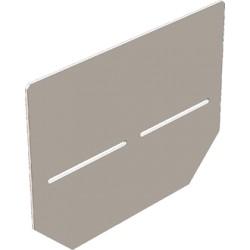 Заглушка для низких бетонных лотков DN100
