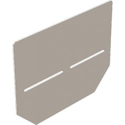 Заглушка 140 мм для бетонных лотков DN100