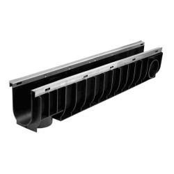 Лоток водоотводный ЛВ-10.14,5.18,5- пластиковый (усиленный)