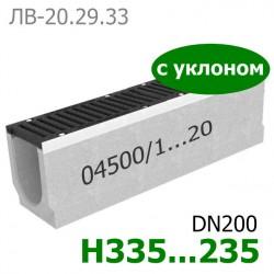 Maxi DN200 с уклоном