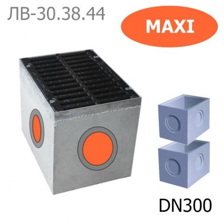 Дождеприемный колодец секционный Maxi ДК-30.38.44-Б-С бетонный, кл. D и E
