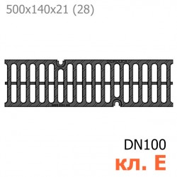 Схема: Чугунная решетка Gidrolica Super РВ -10.14.50, кл. E600