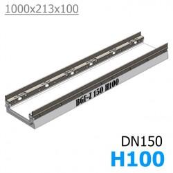 Лоток BGF-Z DN150 H100