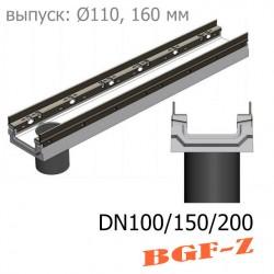 Модель: Лотки BGF-Z бетонные с вертикальным водоcливом