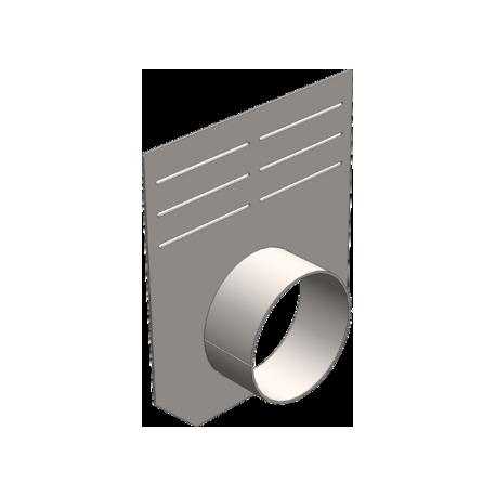 Заглушка 210 мм (с выпуском) для бетонных лотков DN150