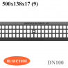 Решетка водоприемная Gidrolica Standart РВ-10.13,6.50 ячеистая пластиковая, кл. А15
