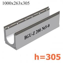 Лоток BGU-Z DN200 H305, № 5-0