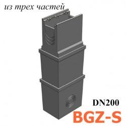 Пескоуловитель BGZ-S DN200 многосекционный