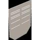 Торцевая заглушка DN 200, стальная оцинкованная (BGU-Z SV, BGZ-S SV)
