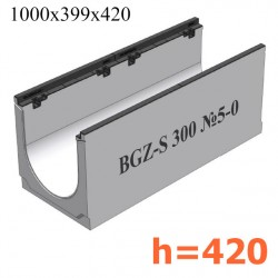 Лоток BGZ-S DN300 H420, № 5-0