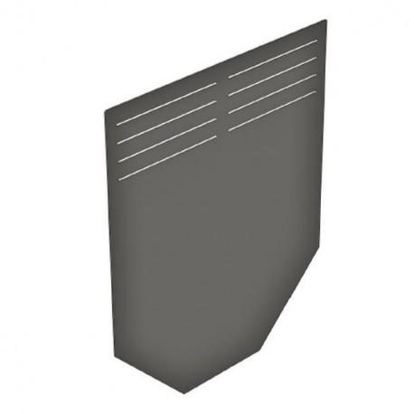 Торцевая заглушка DN200/300, стальная оцинкованная