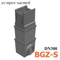 BGZ-S пескоуловитель DN300, многосекционный, с чугунной насадкой (бетонный)