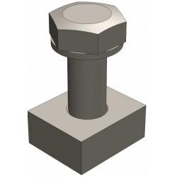 Крепеж для лотка  Gidrolica Pro и Gidrolica Super
