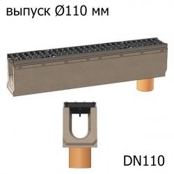 Лотки бетонные BetoMax DN110 с вертикальным водосливом