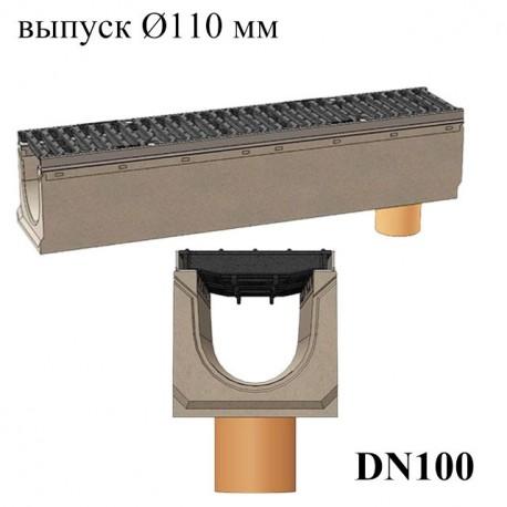 Лотки бетонные BetoMax DN160 с вертикальным водосливом