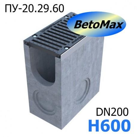 Пескоуловитель BetoMax ПУ-20.29.60-Б бетонный с решёткой чугунной ВЧ