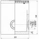 Чертеж: Пескоуловитель BetoMax ПУ-20.29.60-Б бетонный с решёткой чугунной ВЧ