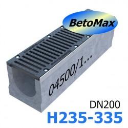 Лотки BetoMax DN200 с уклоном