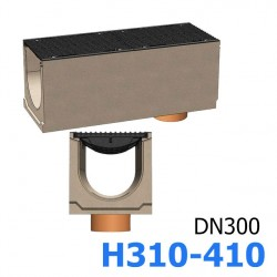 Лотки бетонные BetoMax DN300 с вертикальным водоотводом