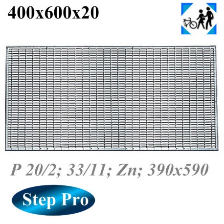 Решетка Gidrolica Step Pro 390/490