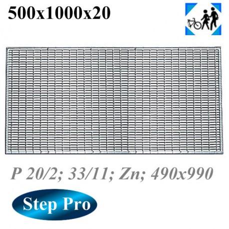 Решетка Gidrolica Step Pro 490/990