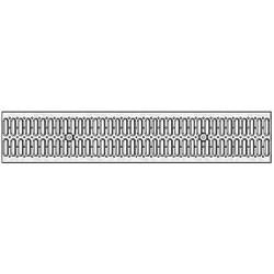 Решетка РВ -15.18,6.100 - штампованная стальная оцинкованная
