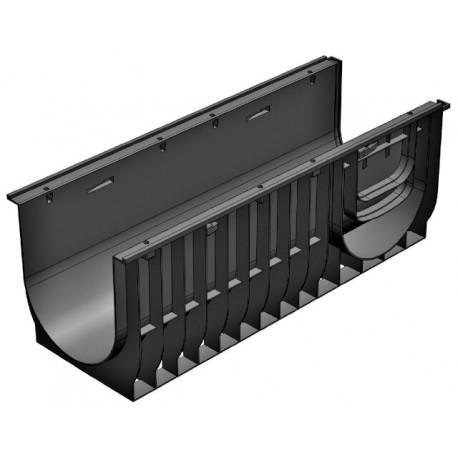 Лоток водоотводный Gidrolica Standart ЛВ-30.38.28 пластиковый