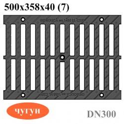 Чугунная решетка РВ-30.37.50 кл. C250