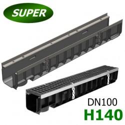 Лоток Gidrolica Super ЛВ-10.14,5.14 пластиковый