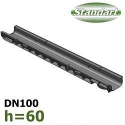 Лоток ЛВ-10.14,5.06 пластиковый (DN100 H60)