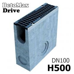 Пескоуловитель BetoMax Drive DN100 H500 с решеткой, кл. D