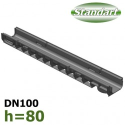 Лоток ЛВ-10.14,5.08 пластиковый (DN100 H80)