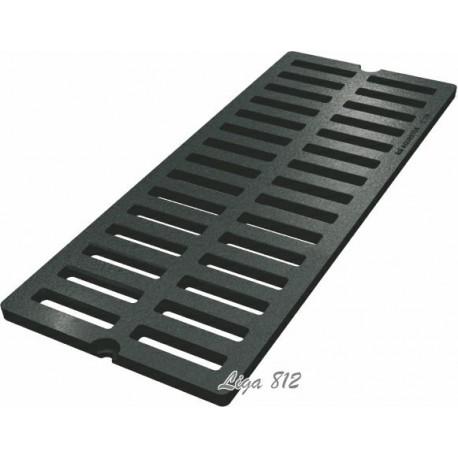 Решетка водоприемная СЧ 750х300х27 - чугунная, кл. D400