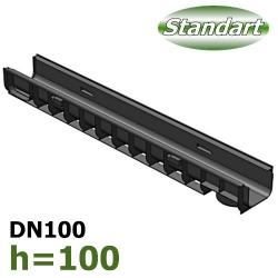 Лоток ЛВ-10.14,5.10 пластиковый (DN100 H100)