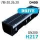 Лоток PolyMax Drive ЛВ-20.26.20-ПП c РВ щель ВЧ кл. D (к-т) 085434