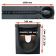Размеры: лоток PolyMax Drive ЛВ-20.26.20-ПП c РВ щель ВЧ кл. D (к-т) 085434