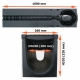 Размеры: Лоток PolyMax Drive ЛВ-20.26.30-ПП c РВ щель. ВЧ кл. D (к-т) 0856034