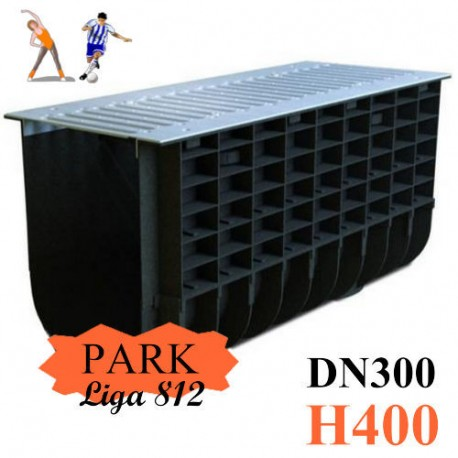 Лоток ЛВП DN300 H400 PARK комплект с решеткой