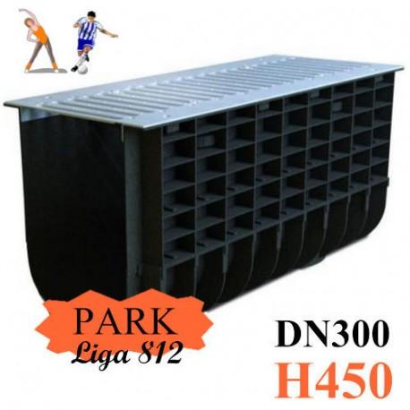 Лоток ЛВП DN300 H450 PARK комплект с решеткой