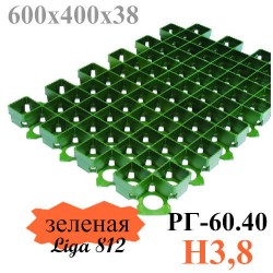 Решетка РГ-60.40.3,8 (зеленая)